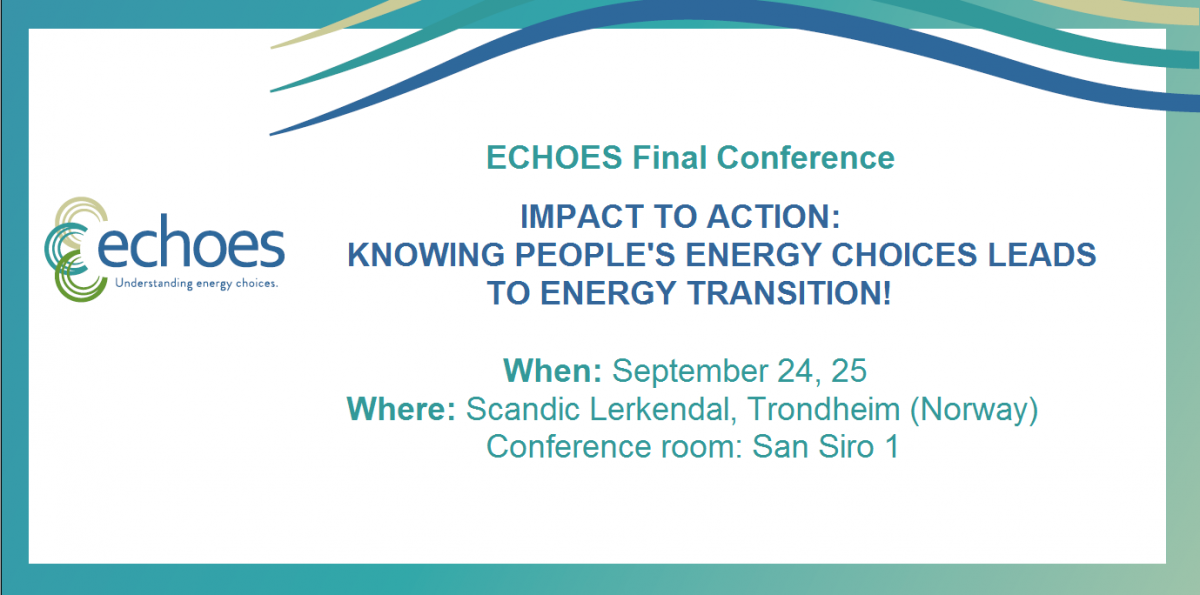 ECHOES final conference